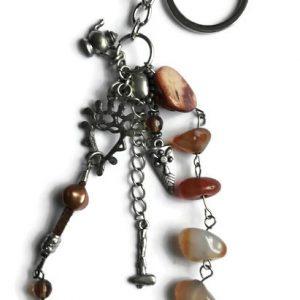 Boho sleutelhanger