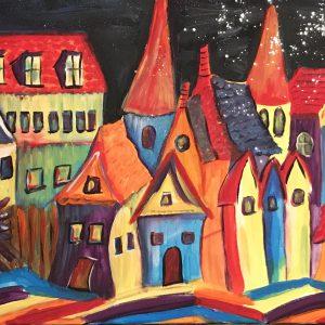 Kleurrijke huisjes
