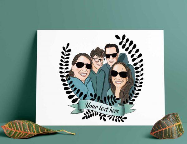 Persoonlijk Familie portret