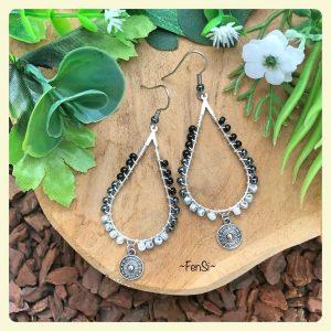 Shop trendy wirewrap earrings @ fensi jewelry boutique Handmade by fenneke smouter fancy sieraden oorbellen fashionista