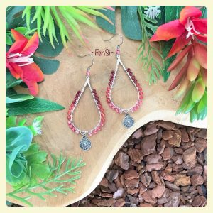 Shop trendy wirewrap earrings @ fensi jewelry boutique Handmade by fenneke smouter fancy sieraden oorbellen fashionista