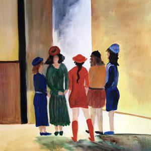Groepje vrouwen