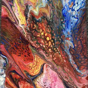Acryl schilderij Levendigheid