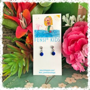 shop beautiful kids earrings at FenSi Jewelry Boutique. All jewelry is handmade with love by Fenneke Smouter. fancy fensi kinder sieraden.
