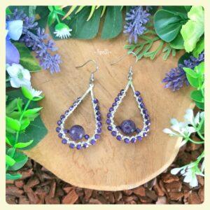 lovely gemstone earrings available at FenSi Jewelry Boutique. Handmade with love by Fenneke Smouter. fensi gems, fancy oorbellen en sieraden