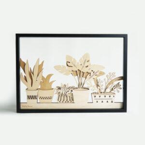 houten planten