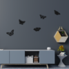 vlinders wanddecoratie