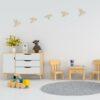 houten vogels wanddecoratie