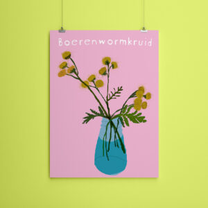 Miniposter A5 Boerenwormkruid