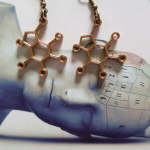 Thee Molecule oorbellen