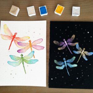 Kaarten libellen